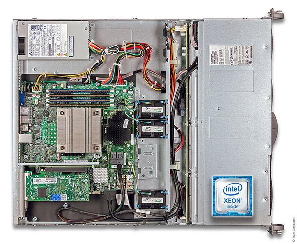 Intel R1304SPO 1U rack szerver