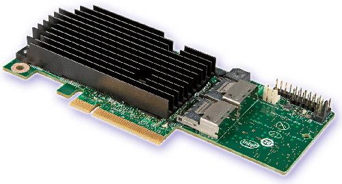 Intel integrált SAS RAID modul RMS25PB040