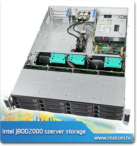 Intel JBOD2000 2U rack szerver storage