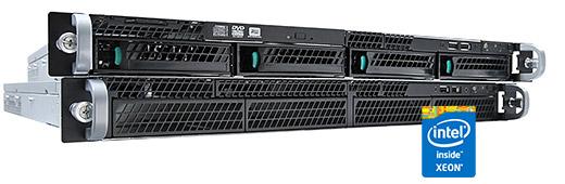 Intel R1304RPO 1U rack szerver