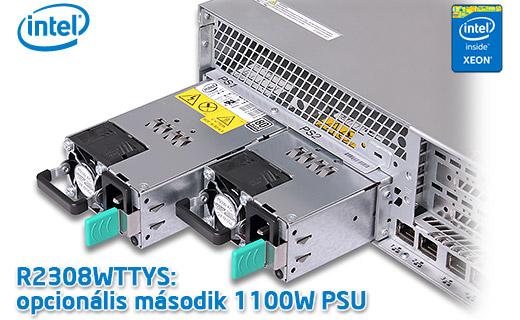 Intel R2208WTTYS,R2308WTTYS, R2312WTTYS 1100W Platinum PSU