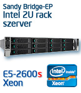 Intel R2312GZ4 rack szerver, Sandy Bridge-EP