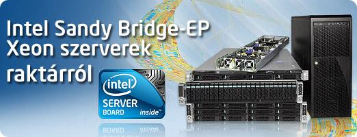 Intel szerverek raktárról