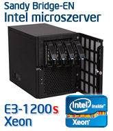 Intel E3-1200v2 Microszerver, Ivy Bridge