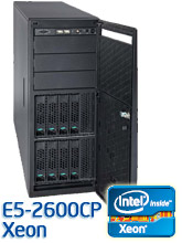 Intel E5-2600CP torony szerver, Sandy Bridge-EP
