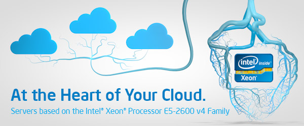 Intel E5-2600 v4 Xeon szerver Cloud