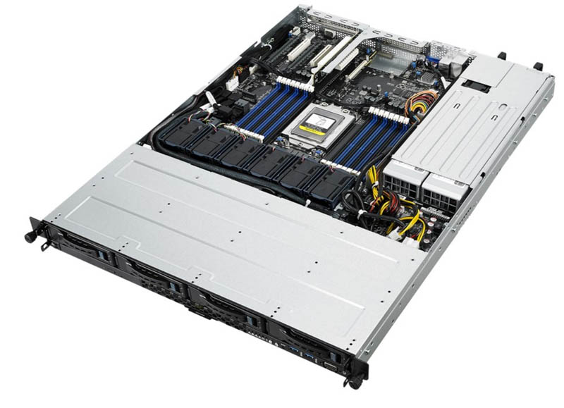 ASUS RS500A-E10-PS4, AMD Epyc 1U rack szerver
