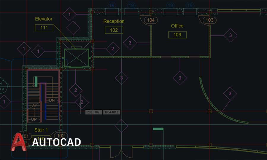 Autocad workstation